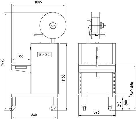 L 600VS Máy bán tự động model 600 VS