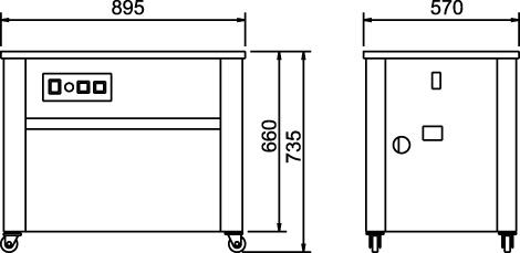 L 740 Máy bán tự động model 740