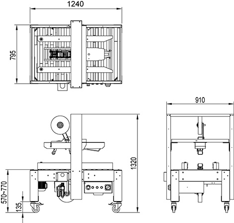 L CXF2 Máy tự động CXF2